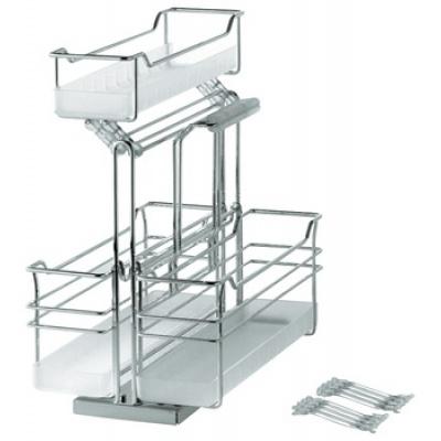 Ngăn kéo dưới chậu bếp, tủ treo tường, với cơ chế đóng giảm chấn, lắp sàn
