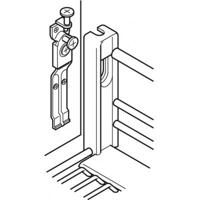 Bộ rổ kéo gắn với cánh tủ cho ray 450mm, dòng Verona