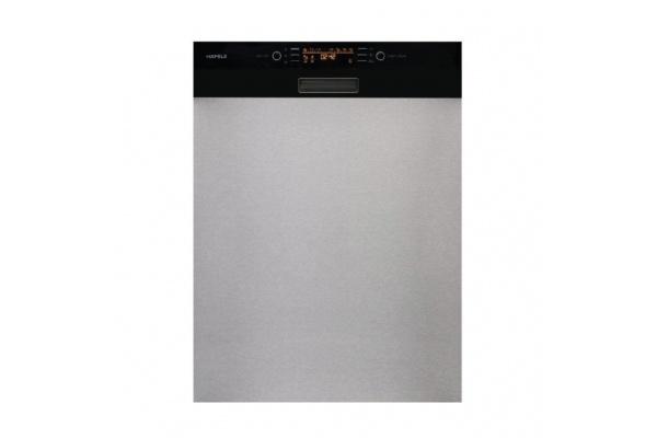 Máy rửa chén bán âm mặt kính đen HDW-HI60C